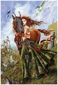 keltische Göttin Epona